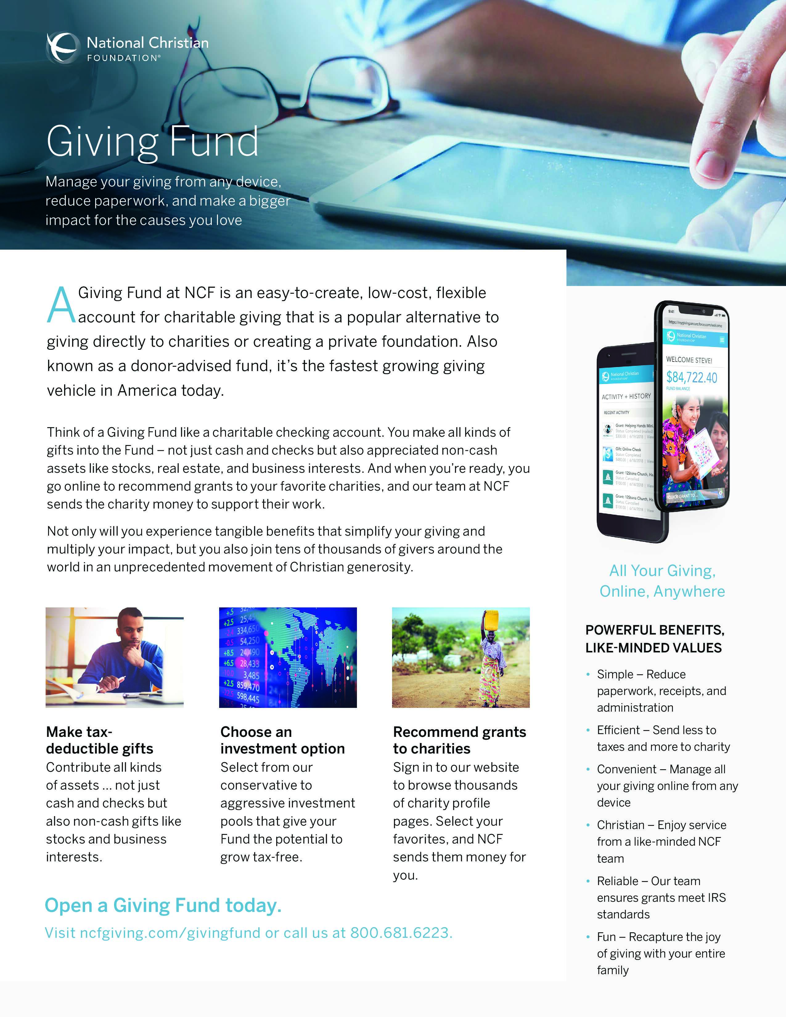 Giving Fund